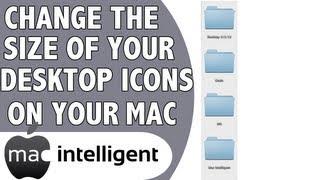 Change The Desktop Icon Size on A Mac