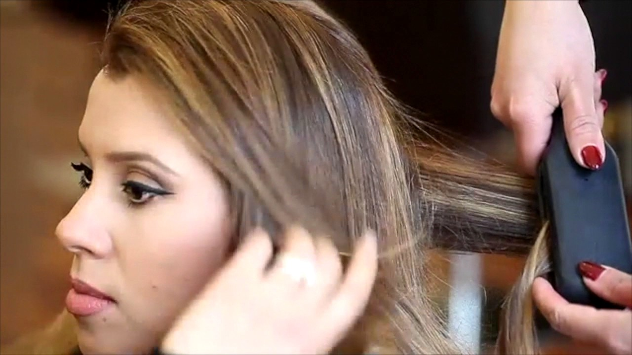 Tuto Coiffure Ombre Hair Balayage Blond Youtube
