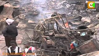 Slum Fires in Kibera and Mathare