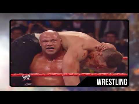 John Cena vs Kurt Angle - First Blood Match (Raw)