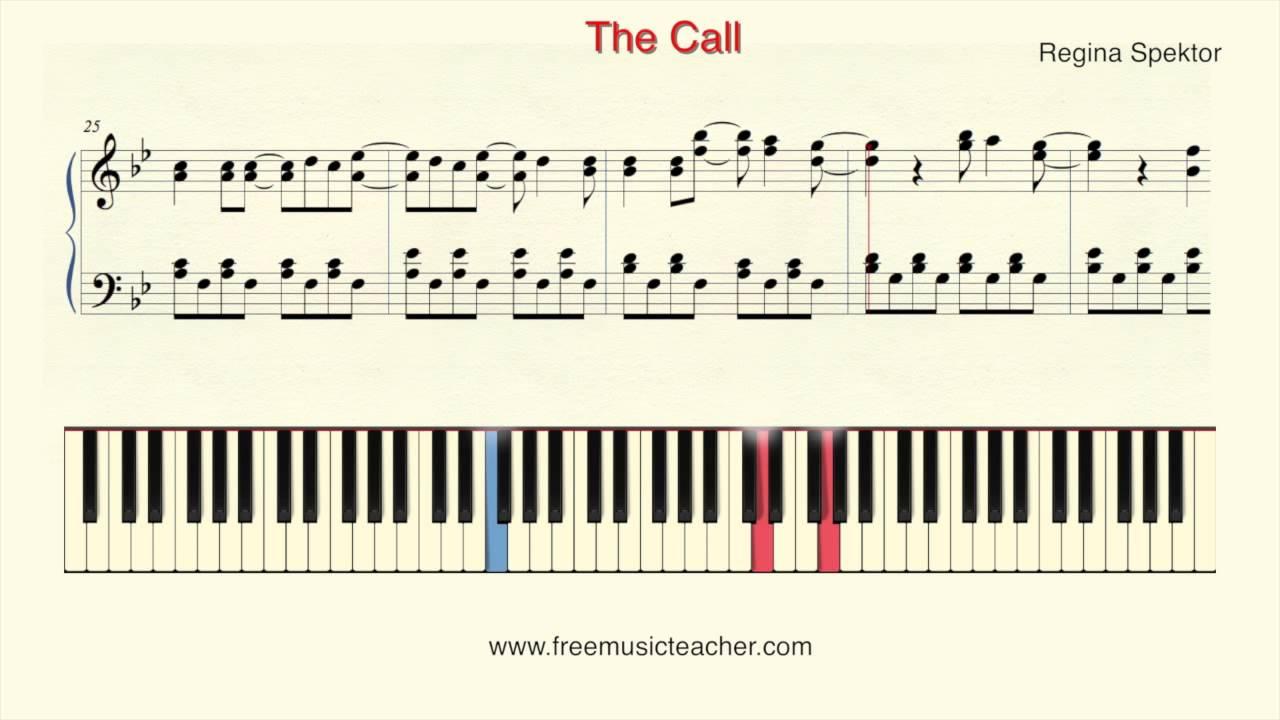 How To Play Piano Regina Spektor