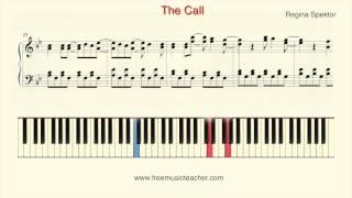 How To Play Piano Regina Spektor The Call Piano Tutorial by Ramin Yousefi