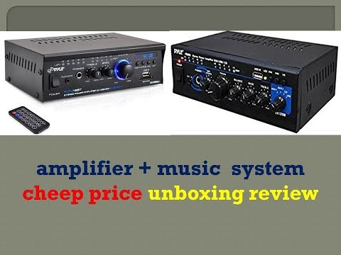 amplifier + music  system cheep price unboxing review