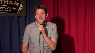 Jaap Vriend Performs at Gotham Comedy Club on February 22, 2019