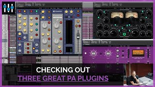 3 New Plugin Alliance Plugins (Enhancing Snare, Guitar & Master Buss)