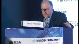 21.IESA Vision Summit 2014: Mr.Steve Anderson, Sr. VP & Manager, Texas Instruments Incorporated