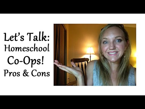 Let's Talk: Homeschool Co-Ops, Pros and Cons