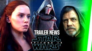 Star Wars Episode 9 Teaser Trailer Exciting News Revealed! (Star Wars News)