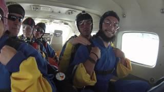 Tandemsprung von Karin bei skydive nuggets in Leutkirch
