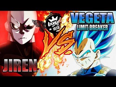 VEGETA (SAIYAN BLUE FULL POWER) VS JIREN RAP - IVANGEL MUSIC   DRAGON BALL SUPER