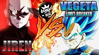 VEGETA (SAIYAN BLUE FULL POWER) VS JIREN RAP - IVANGEL MUSIC...