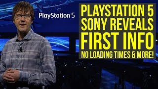 PlayStation 5 FIRST DETAILS - No Load Times, Backwards Compatible, PS5 Graphics & More (PS5 News)