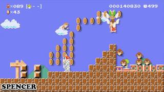 Super Mario Maker: Part 08 (4-Player)