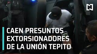 Detienen a 6 presuntos extorsionadores en la CDMX - Las Noticias