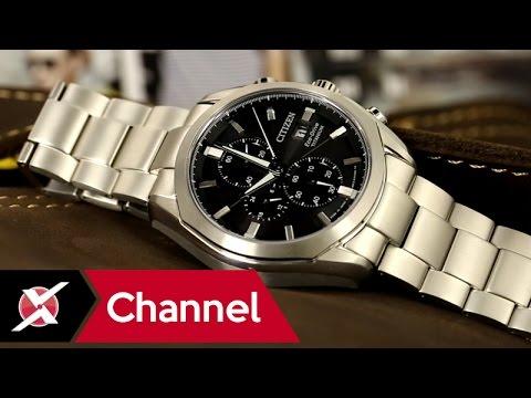 Đồng hồ Citizen CA0021-53E Eco-Drive Super Titanium