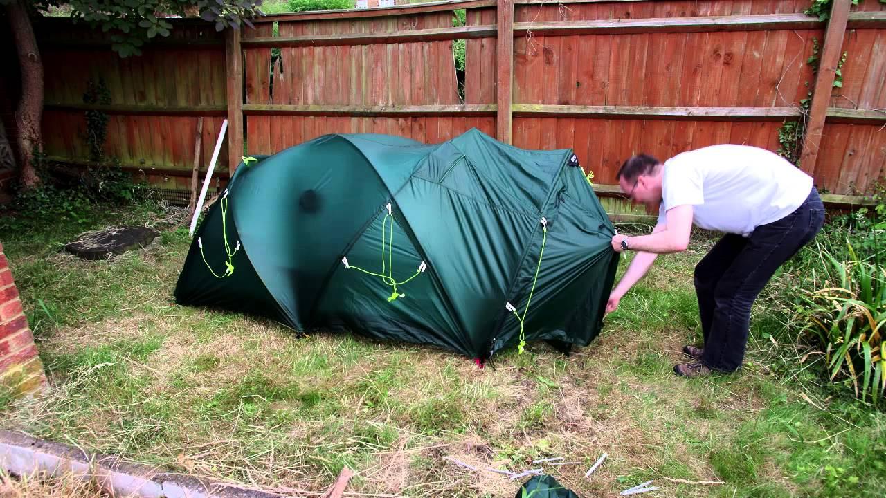& Crux X2 Bomb Tent - YouTube