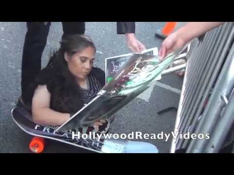 Rose Siggins s love to her  at the American Horror Story Freak premiere