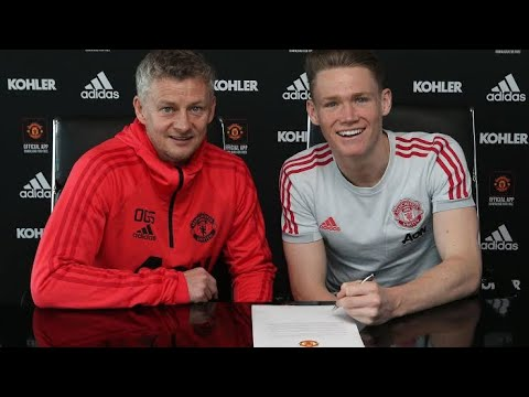 Man United star Scott McTominay signs new 5 year deal - YouTube
