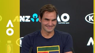 Roger Federer press conference (3R) | Australian Open 2018