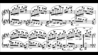 Play Variations (28) on a Theme of Paganini, for piano, in A minor, Op. 35