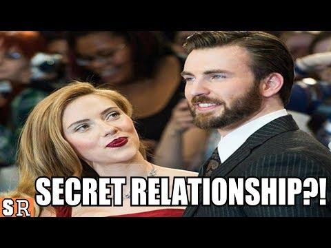 Chris Evans And Scarlett Johansson Dating!? (cute Moments)   So Random