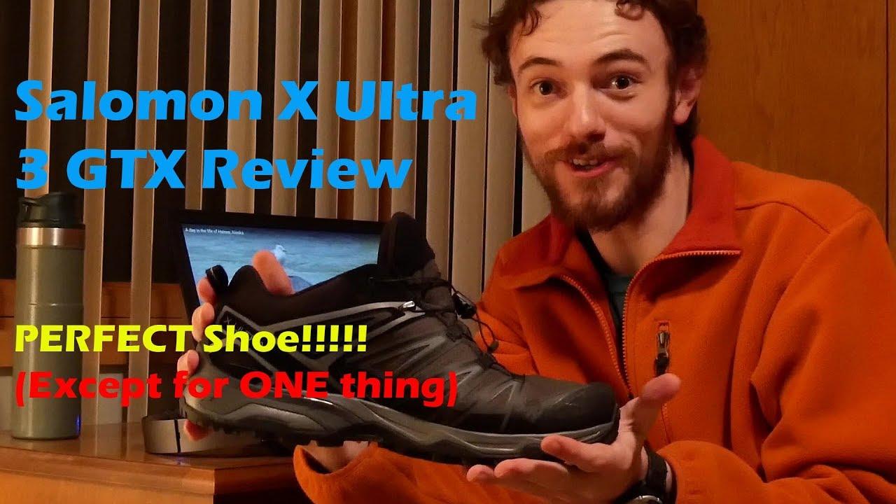 salomon men's x ultra 3 gtx shoe review philippines