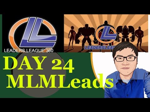 Poor Man Woman System aka LL360 Day 24 – MLMLeads Signup