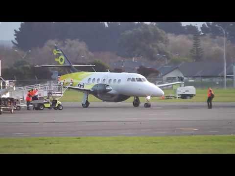 Palmerston North Airport - Originair Jetstream 31 ZK-JSH Landing RWY07