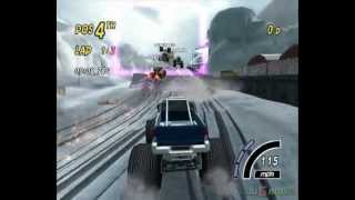 Monster 4X4: World Circuit - Gameplay Xbox HD 720P