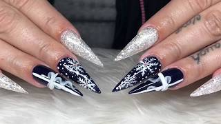 It's Christmassss | infills | acrylic nails