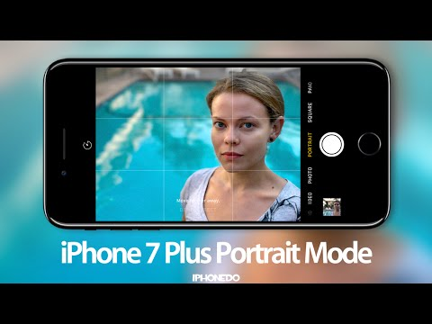 iPhone 7 Plus Portrait Mode (Depth Effect) —Review [4K]