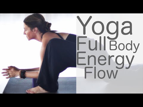 30 Minute Yoga Full Body Stretch Workout For Energy (Chakra) Vinyasa Flow | Fightmaster Yoga Videos