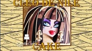 Halloween Monster High Cake Cleo De Nile - (How to make)