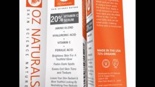 OZ NATURALS VITAMIN C SERUM INFORMATIONS