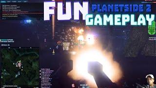 Fun Planetside 2 Gameplay