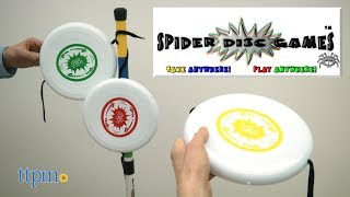 Spider Disc Games from AJ Play