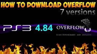 [PS3] Overflow 4.84 CFW Collection.
