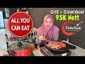 ALL YOU CAN EAT MURAH !! Makan Minum Nambah Sepuasnya Grill dan Steamboat di Suka Suki