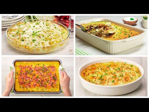 4 рецепта вкусных картофельных запеканок с начинкой от Всегда Вкусно!