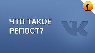 Что такое репост в ВКонтакте и что значит сделать репост записи в ВК?