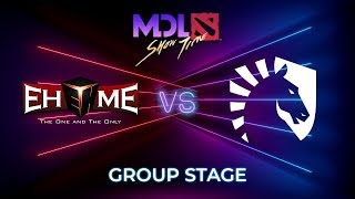 EHOME vs Team Liquid - MDL Macau 2019: Group Stage
