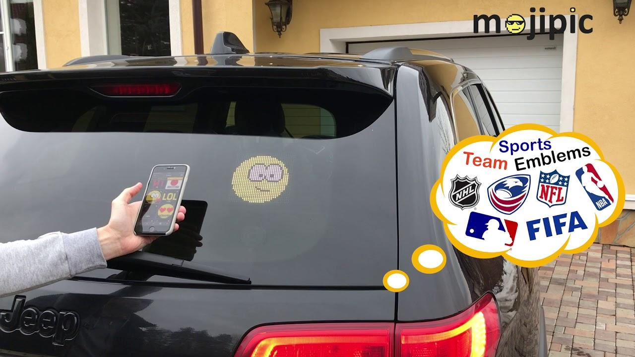 Mojipic - World's first Emoji smart device