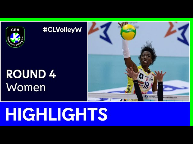VB NANTES vs. A. Carraro Imoco CONEGLIANO Highlights - #CLVolleyW