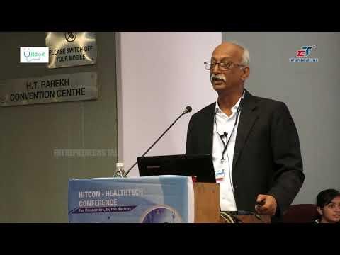 Mr Suresh Shahdadpuri MD Indimedi Solutions at Hitcon Healthtech Conference   2018