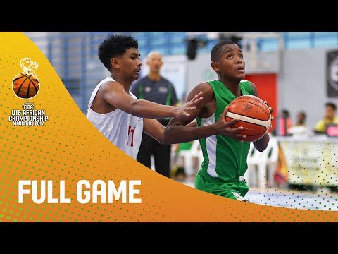Mauritius v Madagascar - Full Game - Classification 5-8 - FIBA U16 African Championship 2017