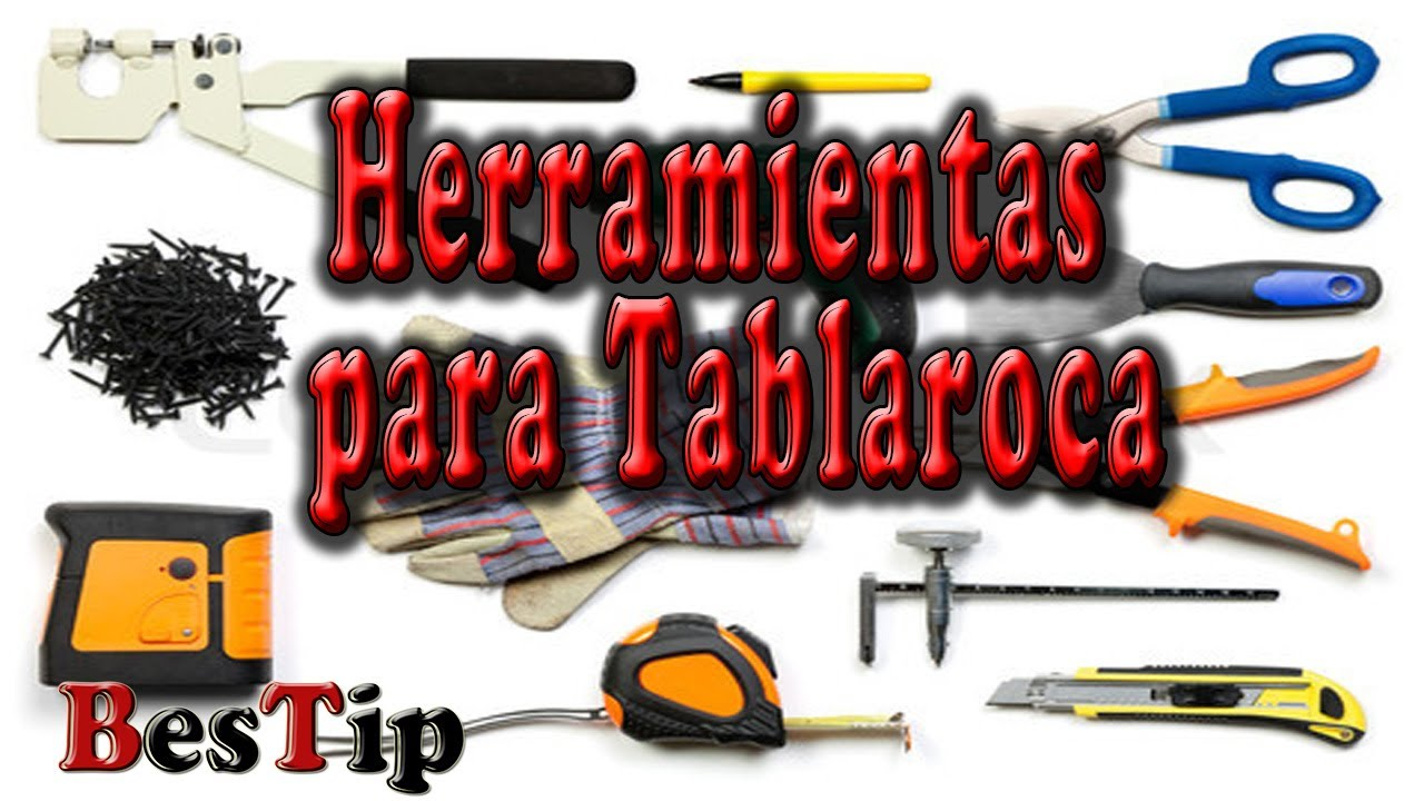 Herramientas Para Tablaroca y materiales - YouTube