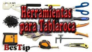 Herramientas Para Tablaroca y materiales