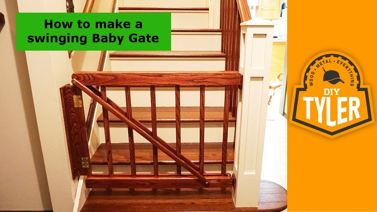 Swinging Actuating Baby Gate 022 Youtube
