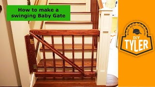 Swinging Actuating Baby Gate 022