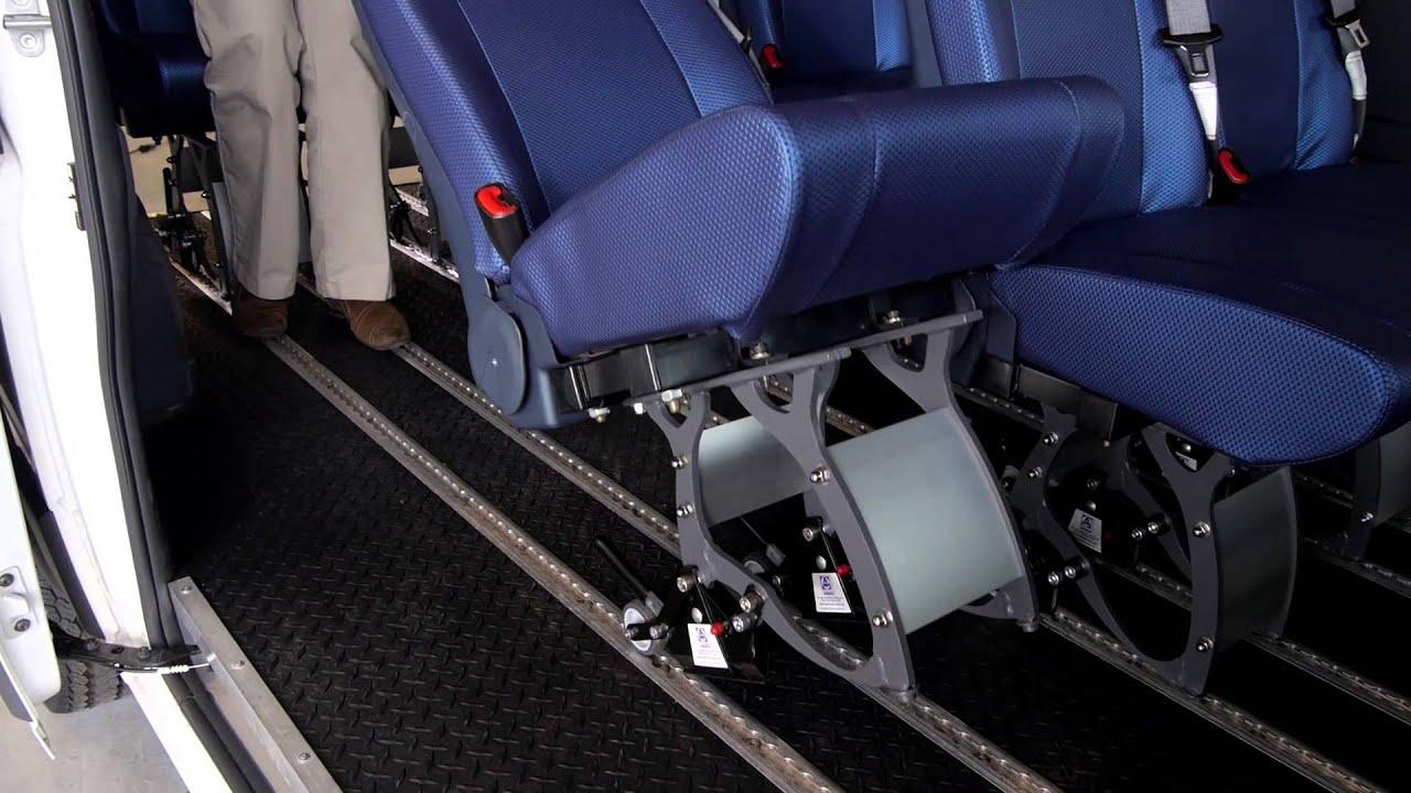 Dodge Ram Promaster >> Ram ProMaster with SmartFloor Seating - YouTube